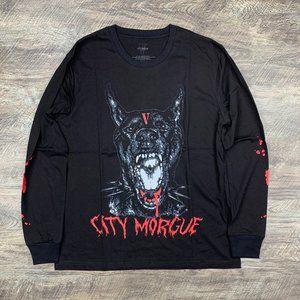 Vlone x City Morgue Bark Black Long Sleeve Tee